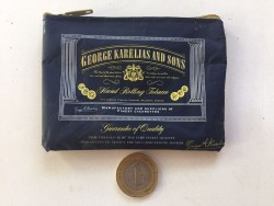 Tütün Ambalajından Fermuarlı Cüzdan