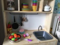 El Yapımı Ahşap Oyun Mutfağı