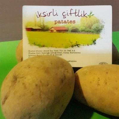 Bahçemizden Organik Sarı Patates 1000 Gr