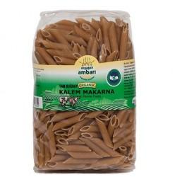 Orgagen Ambarı Organik Tam Buğdaylı Kalem Makarna 500 Gr