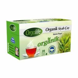 Orgalife Organik Bardak Poşet Siyah Çay 20x2 Gr