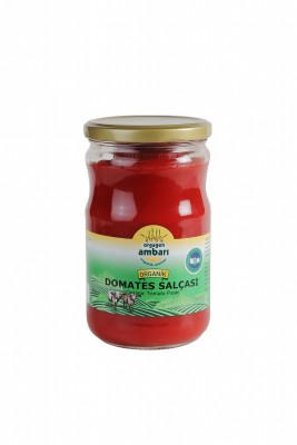 Orgagen Ambarı Organik Domates Salçası 660 Gr