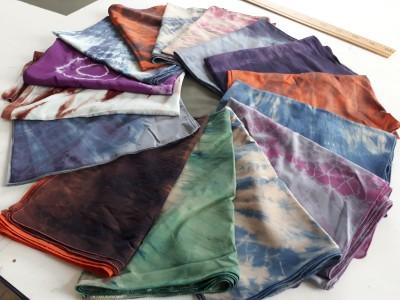 Batik İpek Şal