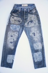 0024 High Rise Baggy Remade Jean Regular Price