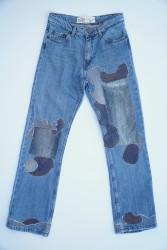 0021 Regular Fit - Boot Cut Remade Jean