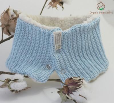 Organic Bonny Baby Mavi Snood