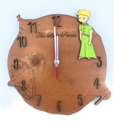 Küçük Prens Duvar Saati