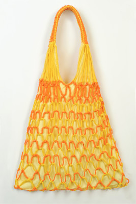 Sarı- Turuncu File Çanta