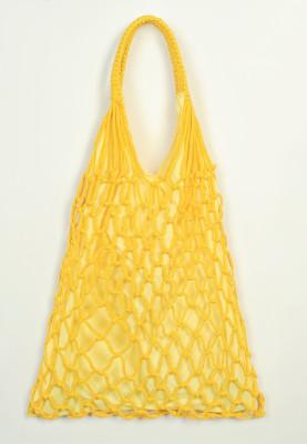 Sarı File Çanta