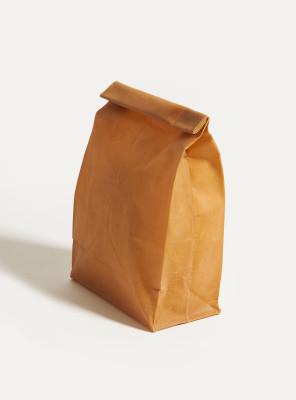 M Lunch Bag   Orta Boy Balmumlu Saklama Kesesi