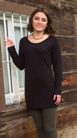 Tunik Model - Pamuk (siyah)
