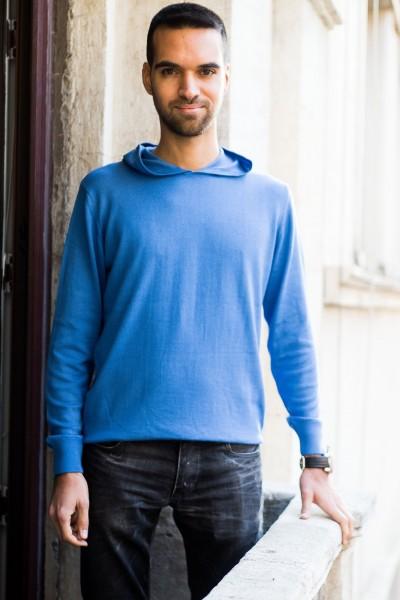 Feyo Model - Kapüşonlu (mavi)