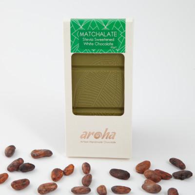 Aroha Stevialı Matchalate (matcha Tozlu Beyaz Çikolata) 80gr