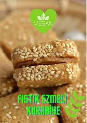 Fıstık Ezmeli Vegan Kurabiye (400 Gr)