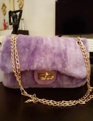 Peluş Mini Çanta