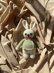 Amigurumi Papyonlu Tavşan