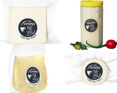 Soframda Ne Var Avantajlı Keçi Peyniri Paketi 1650 Gr