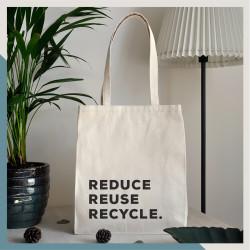 Walker - Reduce Reuse Recycle El Yapımı Bez Çanta