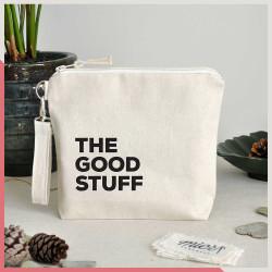 Stuff / The Good Stuff Fermuarlı El Çantası