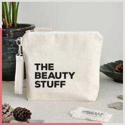 Stuff - The Beauty Stuff Fermuarlı El Çantası