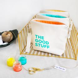 Stuff Renkli - The Good Stuff Fermuarlı El Çantası