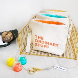 Stuff Renkli - The Ordinary Stuff Fermuarlı El Çantası