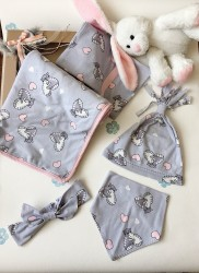 Kız Bebek Battaniye Seti
