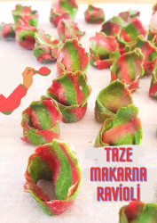 Taze Makarna Ravioli