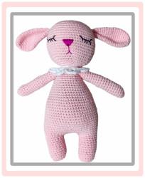 Organik Uyku Arkadaşı Pembe Tavşan