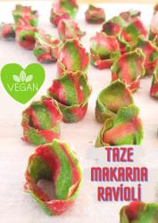 Taze Vegan Ravioli Makarna