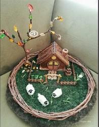 Minyatür Ahşap Çiftlik Evi