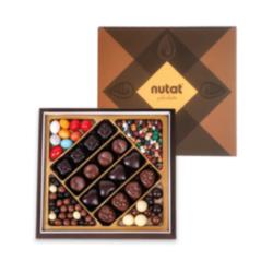 Karışık Spesiyal Çikolata - Draje Mor Kutu