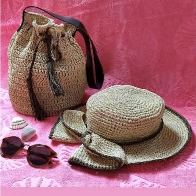 Yaz Çanta& Şapka Seti