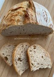 %100ekşi Mayalı Tam Buğdaylı Köy Ekmeği