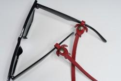 Gözlük Askısı Deri Özel Tasarım Kırmızı Askı Kırmızı Caretta