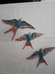 Üçlü Polyester Kuş Seti