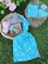 Sevimli Köpüşler Battaniye Seti
