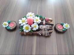 Kütük Mumluk Set