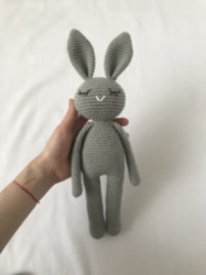 Amigurumi Uykucu Tavşan
