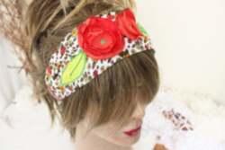 Çiçekli Yaz Saç Bandı