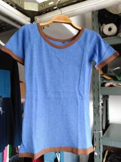 Aynur Model (mavi-kahve)