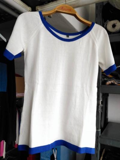 Aynur Model (beyaz-lacivert)