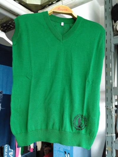 Eda Model - Logolu Süveter (yeşil)