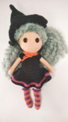 Amigurumi Bebek Cadı Sabrina
