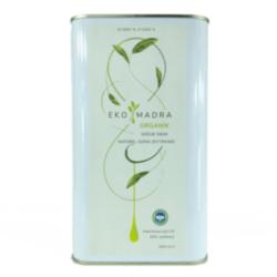 Ekomadra Organik Sızma Soğuk Sıkım Zeytinyağı - 3 Litre