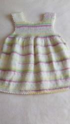 Yün Çocuk Elbisesi