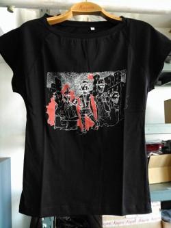 Gezi Model - Patronsuz Tişört(siyah)
