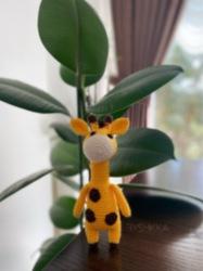 Amigurumi Zuzu Zürafa