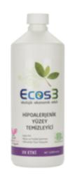 Ecos3 Organik Ve Hipoalerjenik Yüzey Temizleyici 1000ml