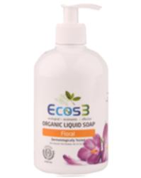 Ecos3 Organik Floral Sıvı Sabun 500ml